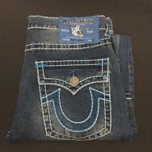 Men's True Religion Ricky distressed jeans 36